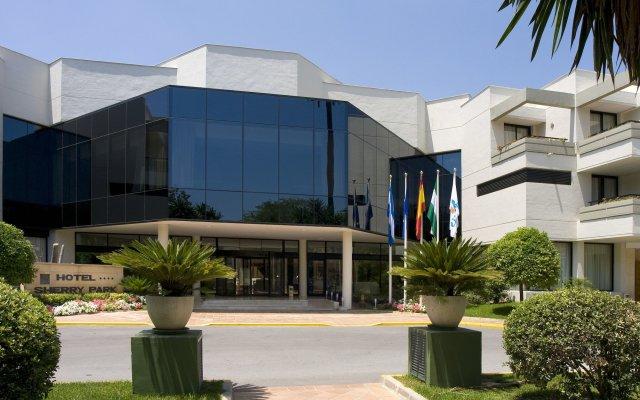 Отель Hipotels Sherry Park Испания, Херес-де-ла-Фронтера - 1 отзыв об отеле, цены и фото номеров - забронировать отель Hipotels Sherry Park онлайн вид на фасад