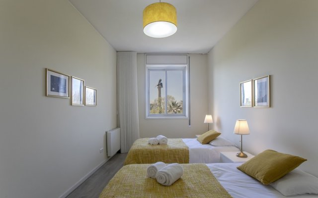 Апартаменты Oporto Boavista Family & Friends Apartment Порту комната для гостей