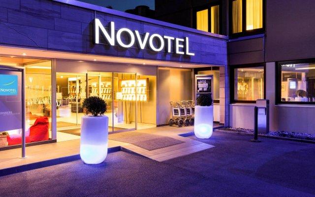 Отель Novotel Nuernberg Messezentrum вид на фасад