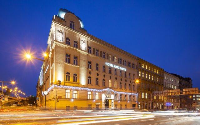 Hotel KING DAVID Prague вид на фасад