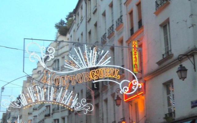 Отель Handsome By Elegancia Париж вид на фасад