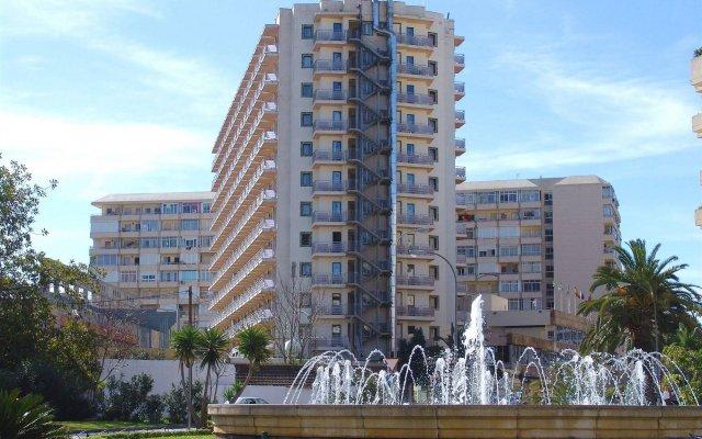 Отель Natali Торремолинос вид на фасад