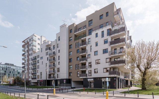 Отель Chill Apartment Польша, Варшава - отзывы, цены и фото номеров - забронировать отель Chill Apartment онлайн вид на фасад