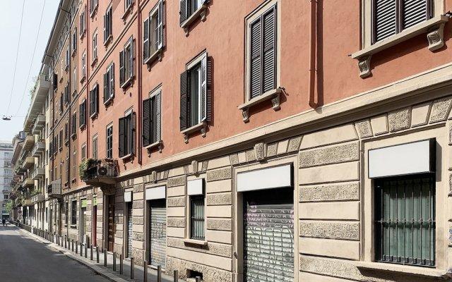 Апартаменты Brera Apartments in Moscova Милан вид на фасад