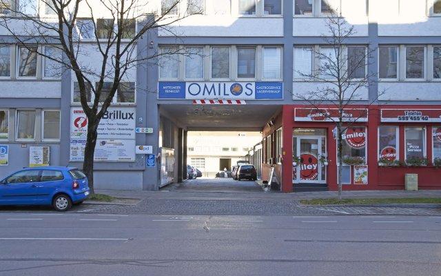 Отель PM-Rooms Германия, Мюнхен - отзывы, цены и фото номеров - забронировать отель PM-Rooms онлайн вид на фасад