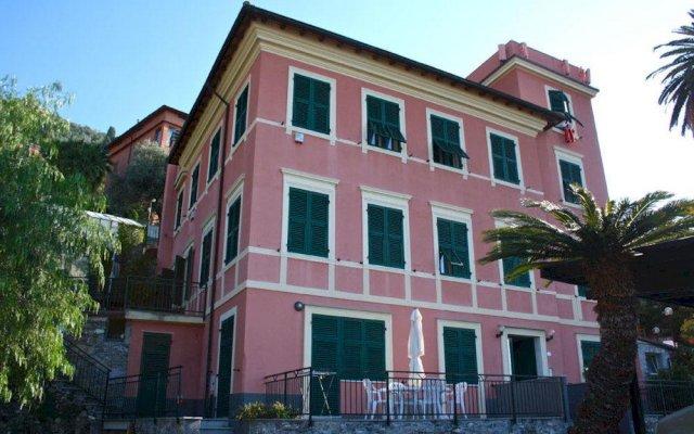 Отель La Panoramica Генуя вид на фасад