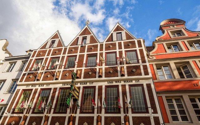 Отель Dusseldorf City by Tulip Inn Германия, Дюссельдорф - 3 отзыва об отеле, цены и фото номеров - забронировать отель Dusseldorf City by Tulip Inn онлайн вид на фасад