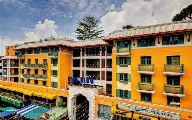 Отель Dang Derm Бангкок вид на фасад