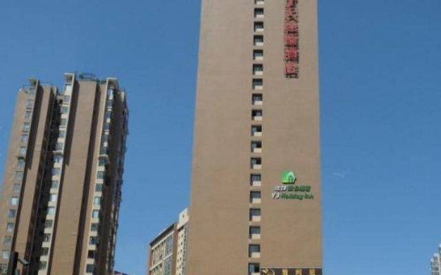 Отель 7 Days Inn Chengdu Chengyu Flyover Metro Station Branch вид на фасад