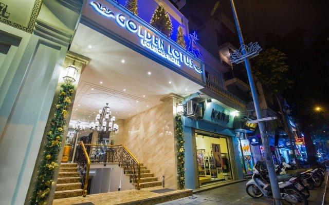 Отель Golden Lotus Hotel Вьетнам, Ханой - отзывы, цены и фото номеров - забронировать отель Golden Lotus Hotel онлайн вид на фасад