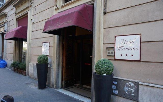 Mariano Hotel вид на фасад