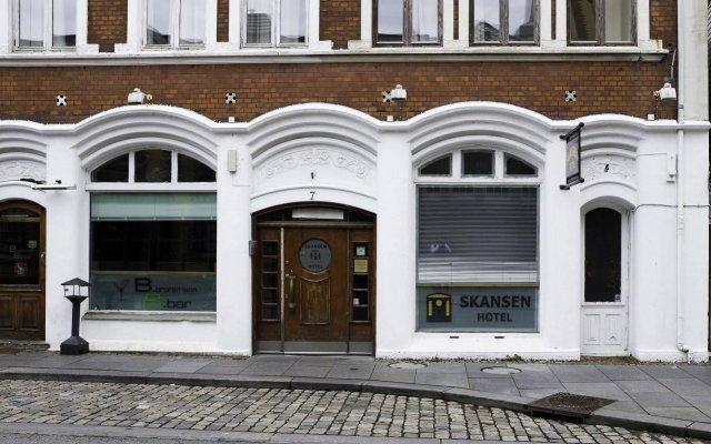 Skansen Hotel вид на фасад
