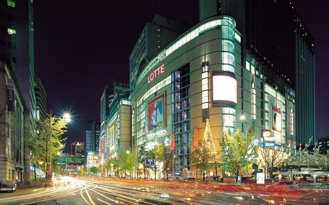 Отель The Westin Chosun Seoul вид на фасад