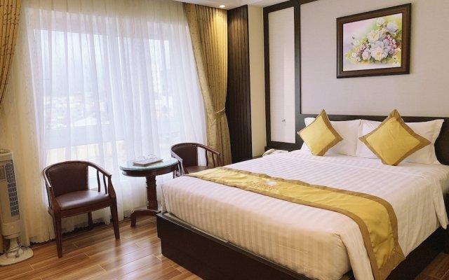 Hoang Minh Chau Ba Trieu Hotel Далат комната для гостей
