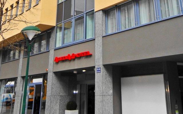 Best Western Plus Amedia Hotel Wien вид на фасад