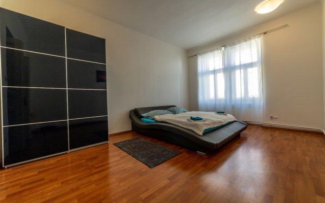 Отель Apartmany LETNA u SPARTY Прага комната для гостей
