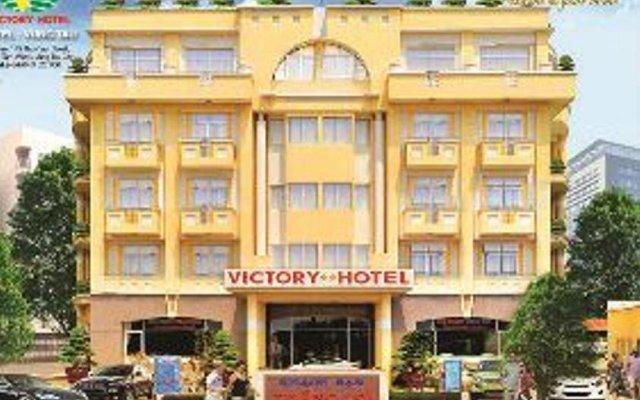 Отель Victory Hotel Вьетнам, Вунгтау - отзывы, цены и фото номеров - забронировать отель Victory Hotel онлайн вид на фасад