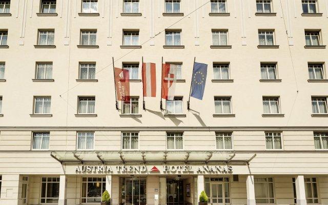 Austria Trend Hotel Ananas вид на фасад