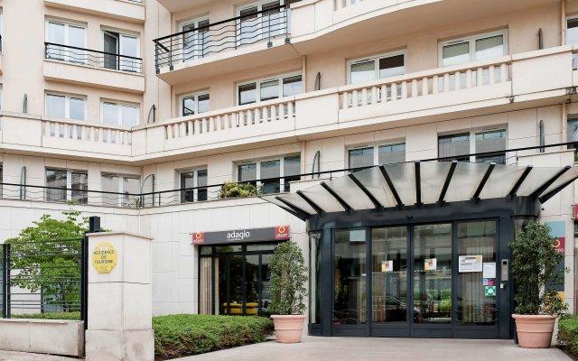 Отель Aparthotel Adagio Porte de Versailles вид на фасад