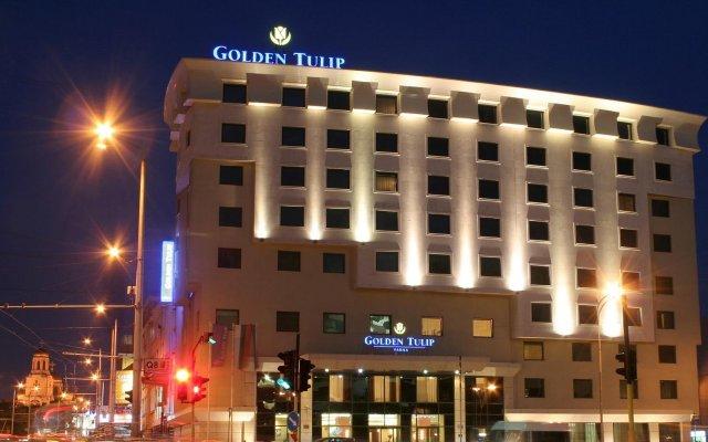 Отель Golden Tulip Varna Болгария, Варна - отзывы, цены и фото номеров - забронировать отель Golden Tulip Varna онлайн вид на фасад
