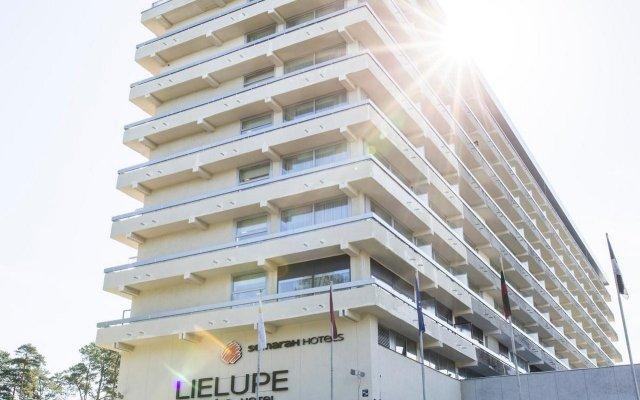 Hotel Lielupe by SemaraH Юрмала вид на фасад