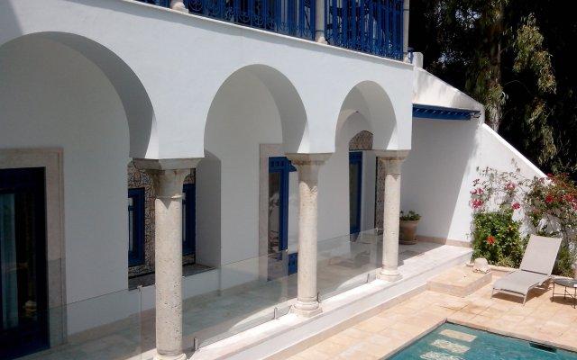 La Villa Bleue in Tunis, Tunisia from 173$, photos, reviews - zenhotels.com hotel front