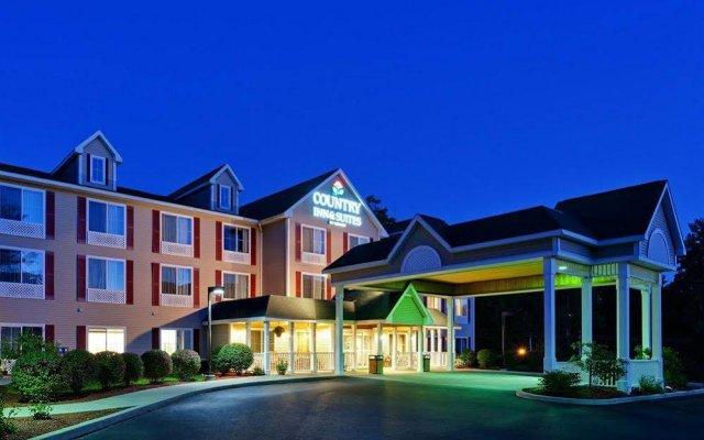 Отель Country Inn & Suites Queensbury вид на фасад