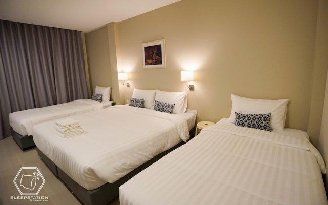 Отель SleepStation at Pratunam Таиланд, Бангкок - отзывы, цены и фото номеров - забронировать отель SleepStation at Pratunam онлайн комната для гостей