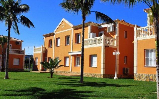 Отель Club Sevilla Олива вид на фасад