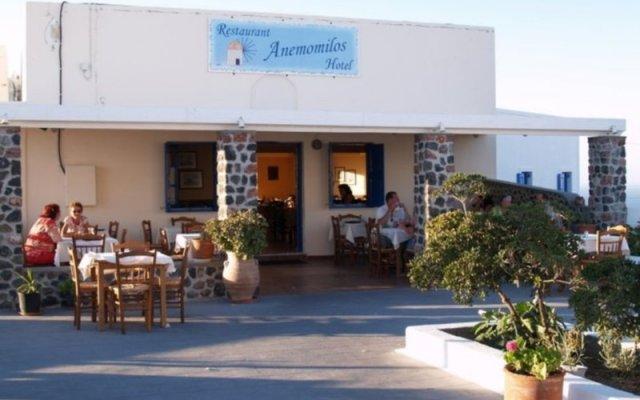 Anemomilos Hotel вид на фасад