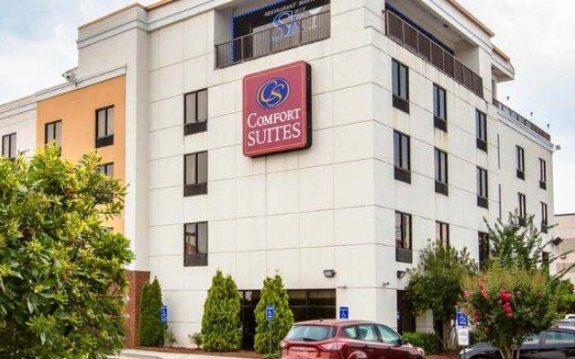 Отель Comfort Suites Atlanta Airport вид на фасад