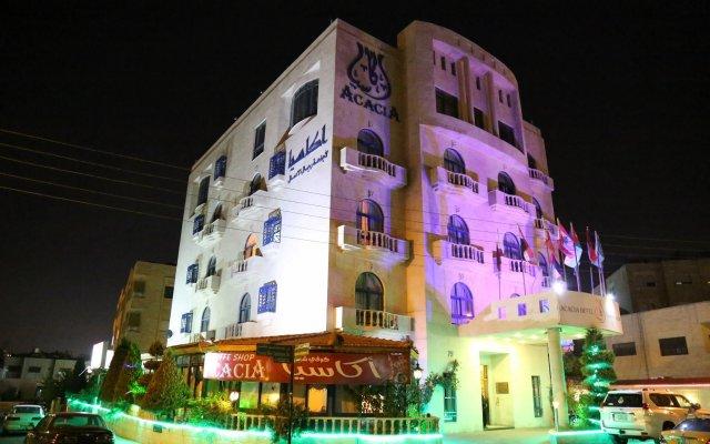 Отель Acacia Suites Иордания, Амман - отзывы, цены и фото номеров - забронировать отель Acacia Suites онлайн вид на фасад