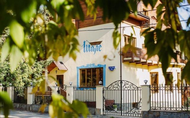 Гостиница Шале в Перми 2 отзыва об отеле, цены и фото номеров - забронировать гостиницу Шале онлайн Пермь вид на фасад