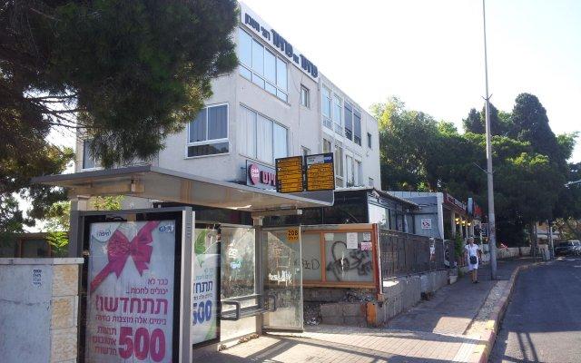 Апартаменты Marom Carmel Center Apartments Хайфа вид на фасад