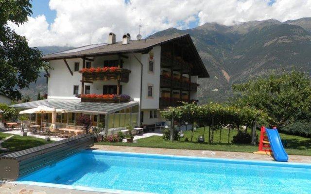 Hotel Montani Горнолыжный курорт Ортлер вид на фасад