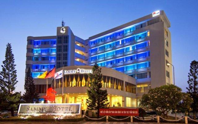 Отель Sammy Hotel Vung Tau Вьетнам, Вунгтау - отзывы, цены и фото номеров - забронировать отель Sammy Hotel Vung Tau онлайн вид на фасад
