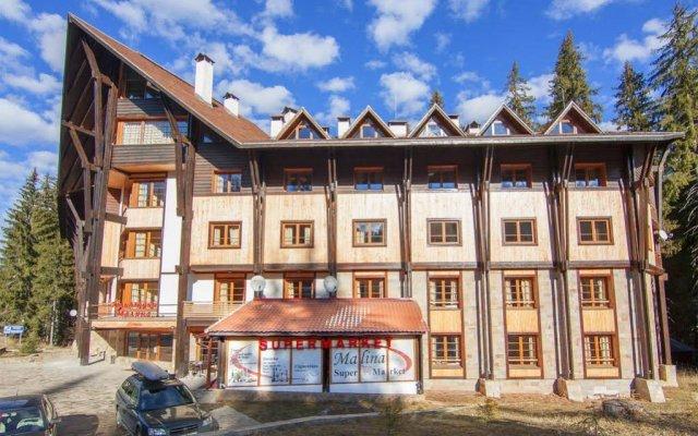 Отель Malina Болгария, Пампорово - отзывы, цены и фото номеров - забронировать отель Malina онлайн вид на фасад