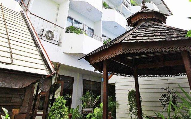 Отель JP Villa Pattaya вид на фасад