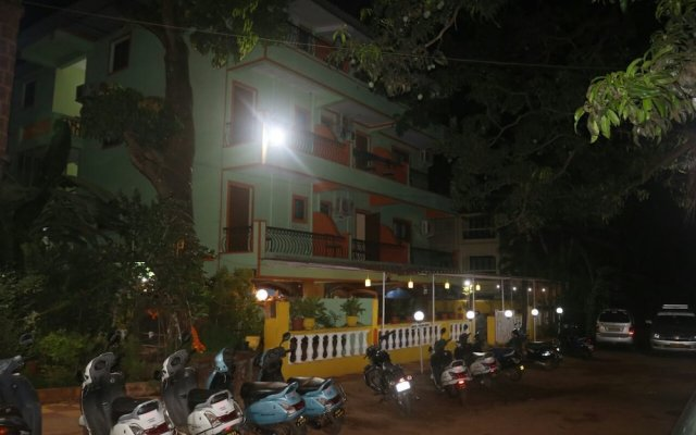 Krish Holiday Inn in Baga, India from 311$, photos, reviews - zenhotels.com hotel front