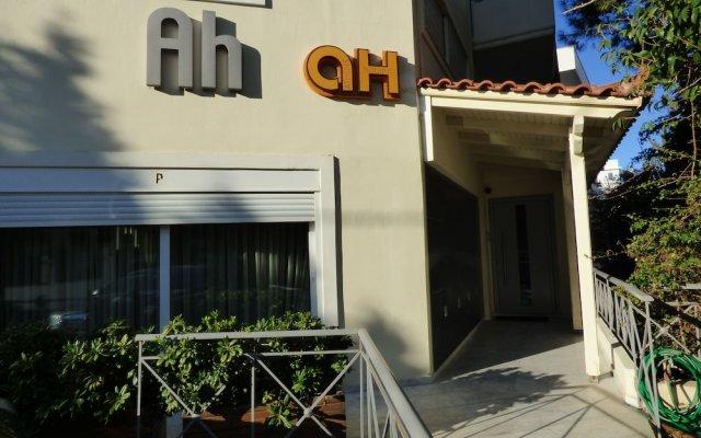 Отель Athens Habitat вид на фасад