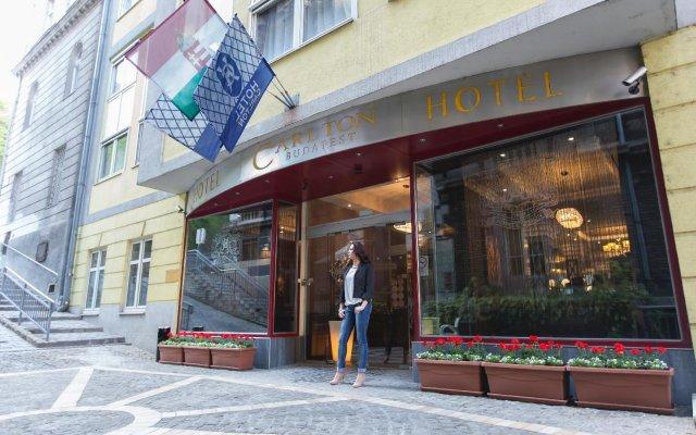 Отель Carlton Hotel Budapest Венгрия, Будапешт - - забронировать отель Carlton Hotel Budapest, цены и фото номеров вид на фасад