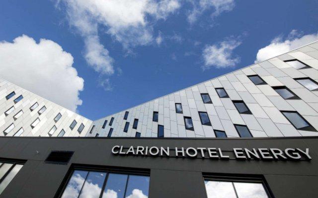 Clarion Hotel Energy вид на фасад