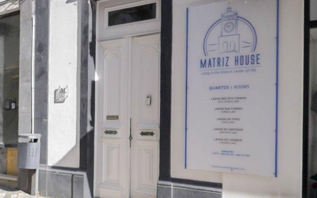 Отель Casa da Matriz Португалия, Понта-Делгада - отзывы, цены и фото номеров - забронировать отель Casa da Matriz онлайн вид на фасад