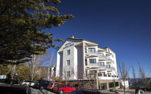 Отель Santa Cruz Испания, Гуэхар-Сьерра - отзывы, цены и фото номеров - забронировать отель Santa Cruz онлайн вид на фасад