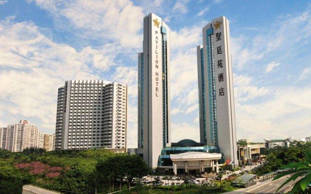 The Pavilion Hotel Shenzhen вид на фасад