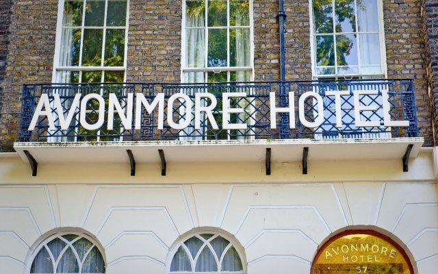 Отель Avonmore Hotel Великобритания, Лондон - 1 отзыв об отеле, цены и фото номеров - забронировать отель Avonmore Hotel онлайн вид на фасад