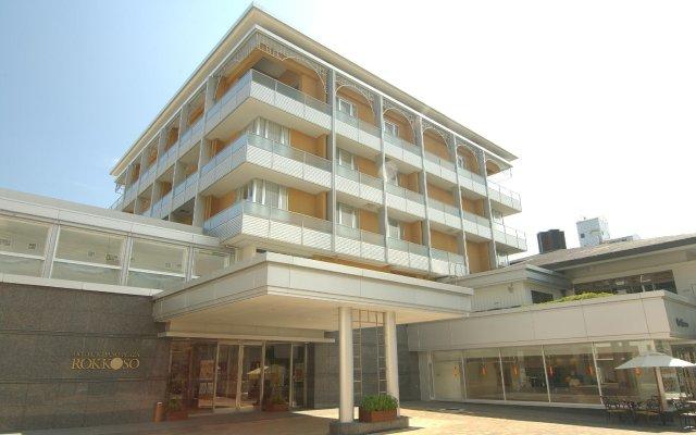 Hotel Kitano Plaza Rokkoso Кобе вид на фасад