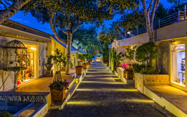 Отель Danai Beach Resort & Villas Ситония вид на фасад
