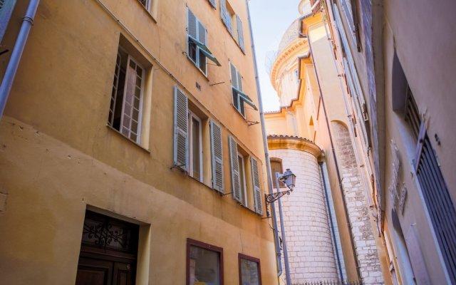 Отель Terrasse De Babette Ap4122 Франция, Ницца - отзывы, цены и фото номеров - забронировать отель Terrasse De Babette Ap4122 онлайн вид на фасад
