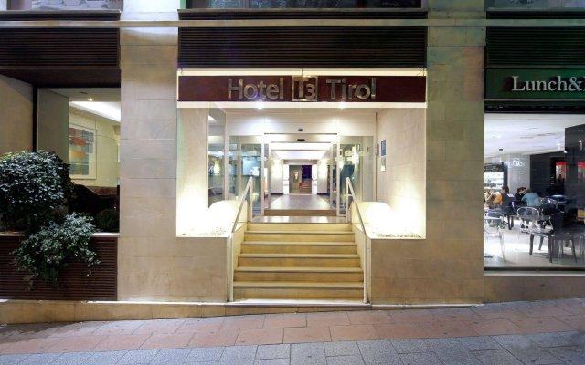 Hotel T3 Tirol вид на фасад